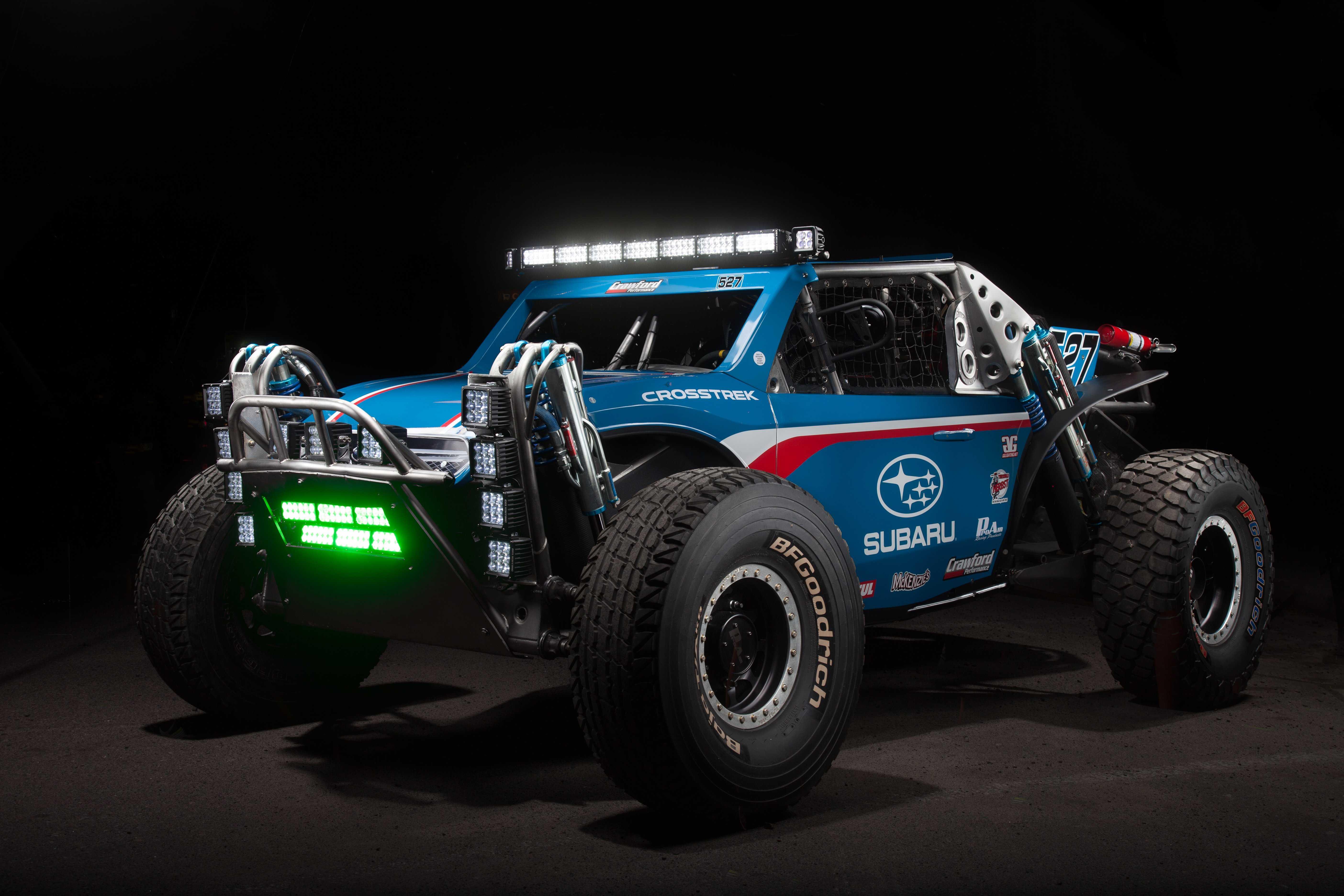 Grabowski Brothers Racing's Unlimited Class 5 Crosstrek Isn't Your Grandma's Subaru