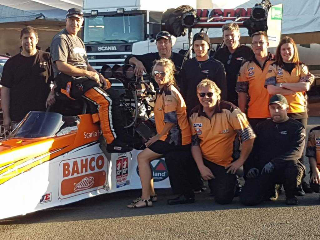 Micke Kagered: European Drag Racing's Top Swede of Top Fuel