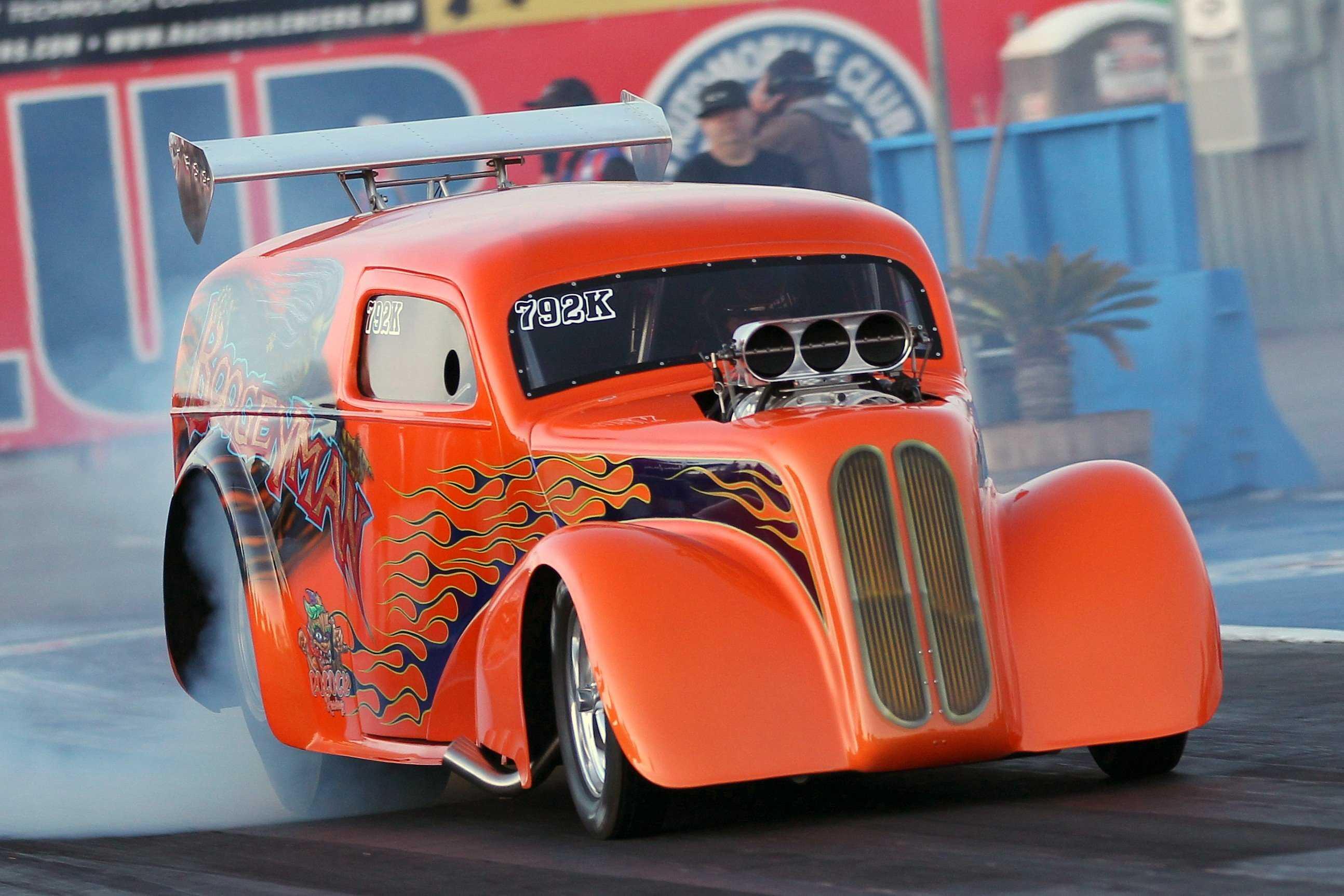 The Boogeyman Cometh: Kamaka Pocock's Nostalgia A/Gas Racer