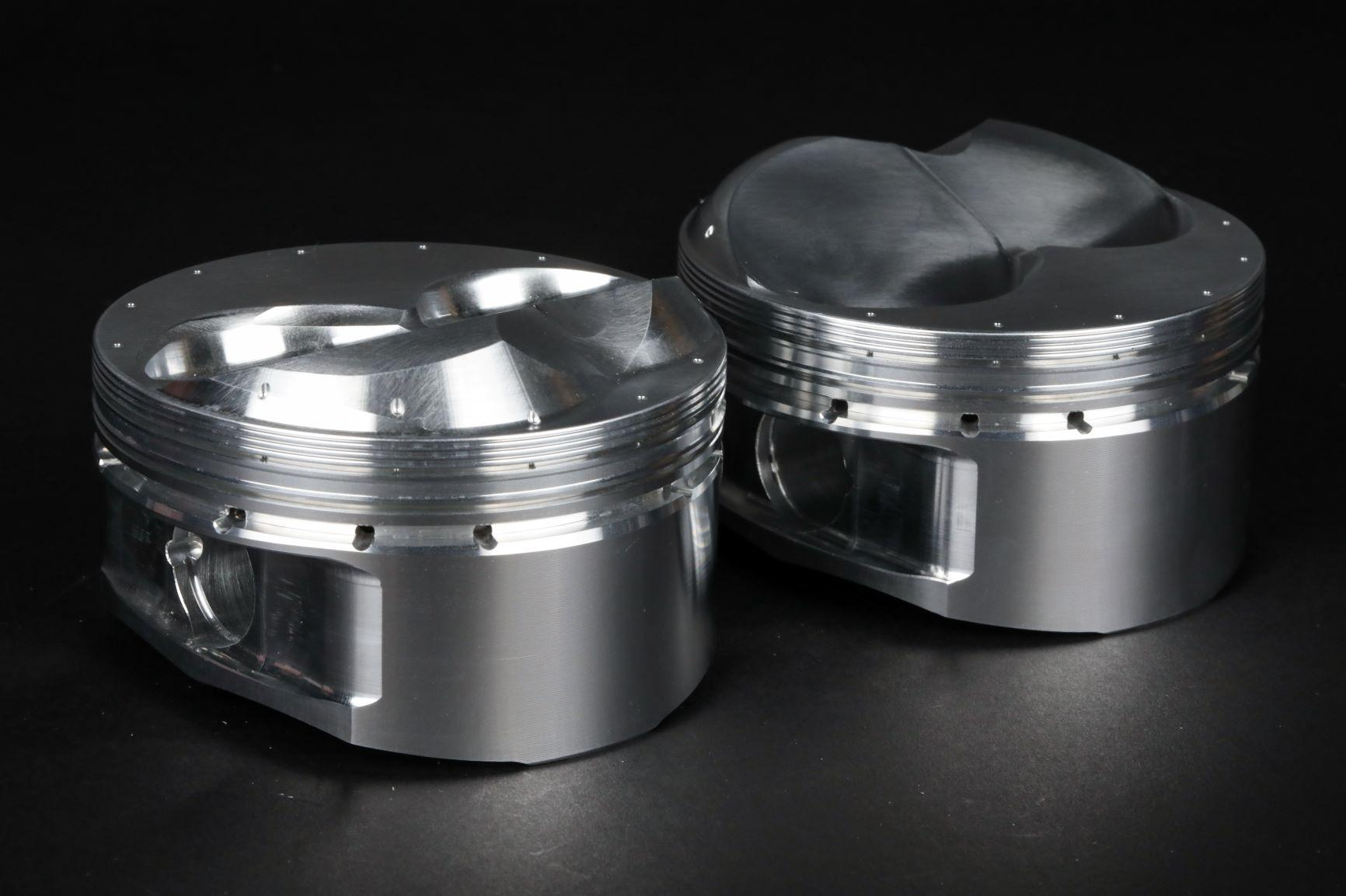 ASCS 360 Sprint Car Racing Pistons from JE